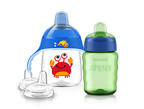 Philips Avent toddler drinking sippy cup range