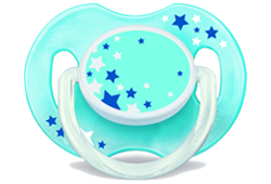 0-6 month classic baby pacifier