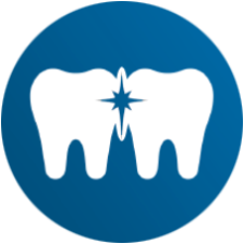 Remove plaque between your teeth icon