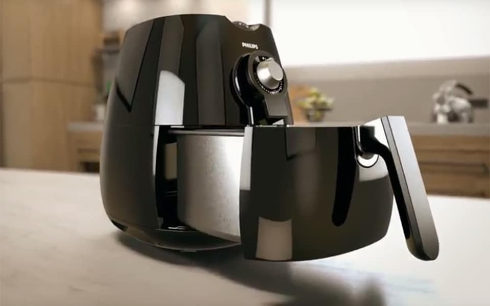 How does the Philips Airfryer work?