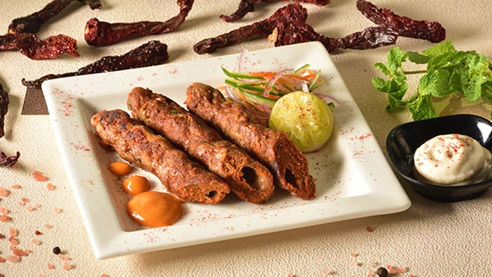 Mutton Seekh Kebab Recipe