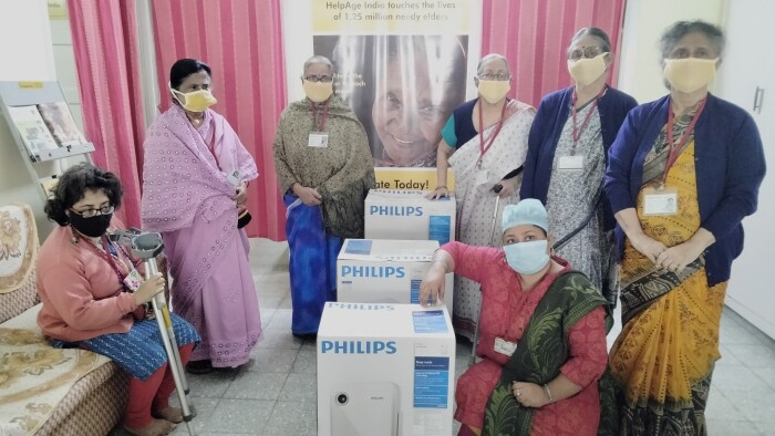 Philips India provides over 400 air purifiers through HelpAge India to old age homes across different locations in India