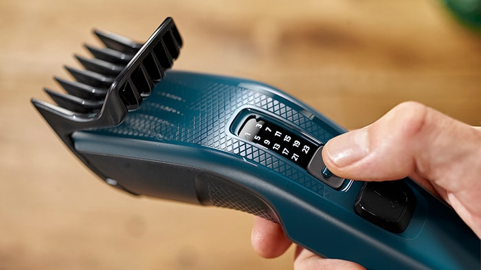 Philips introduces Hair Clippers for men, designed for an easy and even hair cut at home