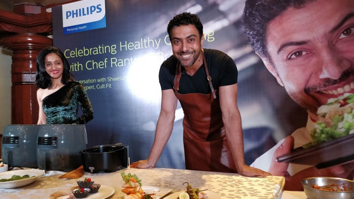Philips Kitchen Appliances with brand ambassador Chef Ranveer Brar Plate up nutritious & delicious food for Bengaluru city
