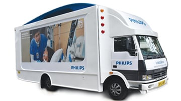Philips India unveils 'Affordable technological Solutions' on wheels- IntelliSafari in Jaipur