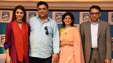 Philips Healthcare signs Ram Kapoor and Gautami Kapoor as their brand ambassadors